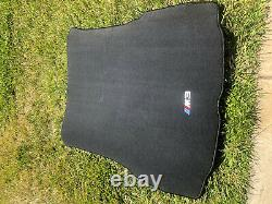 2001-2006 BMW E46 M3 Embroidered Carpet Cargo Trunk Mat Genuine 2-DOOR COUPE