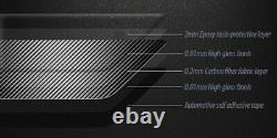 2x Genuine Carbon Fibre Headlight Brow Cover Eyelid Eyebrow 06-13 BMW E92 E93 M3