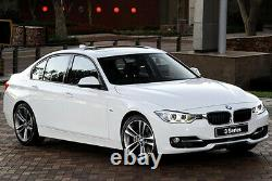 4x Genuine Carbon Fibre Window Wind Deflector Rain Guard BMW 3 Series F30 F80 M3