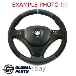 BMW 1 3 er E81 E87 E90 E91 E92 NEU Leder / Alcantara wie M-Sport Lenkrad