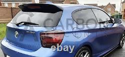 BMW 1 Series PRE LCI Real Carbon Fibre Fiber Roof 3D Spoiler F20 F21 M135i Sport