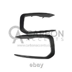 BMW 1 Series Real Carbon Fibre Fiber Front Canards F20 F21 M135i M140i only
