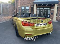 BMW 4 Series F33 F83 Real Carbon Fibre Fiber M4 Style Spoiler M4 F83
