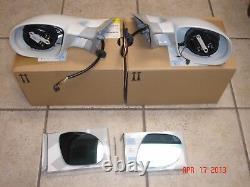 BMW E31 8-Series GENUINE M-Technic Mirror Set, Mirrors 850CSi 840Ci 850Ci NEW