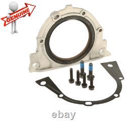 BMW E36 E46 E39 E60 X3 X5 Engine Crankshaft Rear Seal With Housing Kit GENUINE