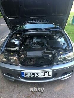 BMW E46 320Ci convertible with only 38,800 genuine miles from new