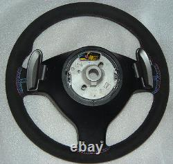 BMW E46 Genuine OEM 2000-2006 CSL M3 SMG Alcantara Steering Wheel NEW