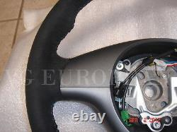 BMW E46 M3 Genuine Alcantara Leather, Suede M Steering Wheel Competition Package