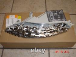 BMW E63 E64 LCI Genuine Front LED Turn Signal Lights 650i M6 2008-2010 NEW Pair