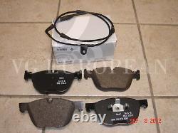 BMW E70 X5 Genuine Front Brake Pads, Pad Set withSensor 3.0si 3.5d 4.8i 35ix 35dx