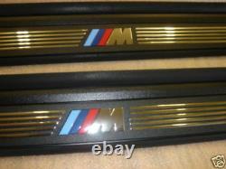 BMW E82 1-SERIES GENUINE M DOOR SILL TRIM SILLS Step Pads 128i 135i 2007-up