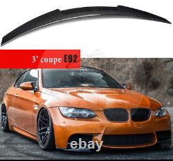 BMW E92 COUPE 2007- 2013 100% Real Carbon Fiber Spoiler