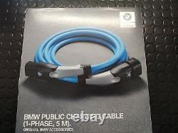 BMW Genuine Charging Cable 1-Phase 7.4 kW AC i8 i3 & PHEV 330e 530e 61905A13025