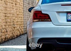 BMW Genuine E82 E88 Led Rear Black Line Tail Light Kit Retrofit 63212225282