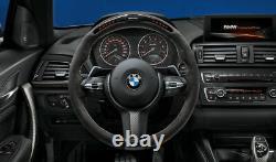 BMW Genuine M Performance Steering Wheel Cover Alcantara Carbon 32302231982