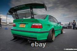 Bmw 3 E36 Coupe Fender Flares + 4,5 CM / Wheel Arches Overfenders Wide Real Foto
