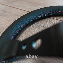 Bmw E36 E36m3 Tourismo 350 Steering Wheel Genuine Leather Tri-color 350mm