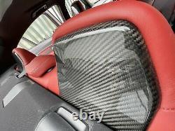 Bmw F80 M3 F82 F83 M4 Genuine Carbon Fibre Seat Back Trim Covers Front & Rear
