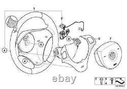 Bmw Genuine E81/82/87/88 E90/91/92/93 M Sport Steering Wheel Trim Cover 7845527