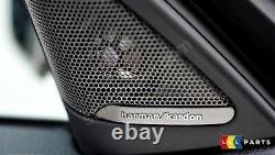 Bmw Genuine New 1 F20 Front Door Speaker Harman Kardon Tweeter Cover Pair Set