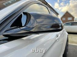 Bmw M3 F80 M4 F82 F83 M2 F87 Genuine Carbon Fibre Side Wing Mirror Cap Covers