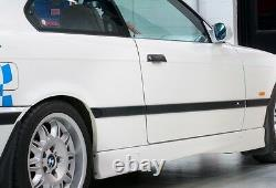 Bmw New Genuine 3 E36 Coupe Cabrio M Side Door Molding Trims Set Left+right