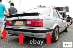 Bmw New Genuine 3 Series E30 1982-1994 Rear Bumper Trim Set Of Three Left Right