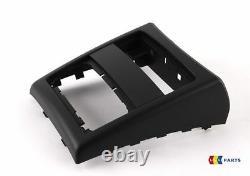 Bmw New Genuine 3 Series E90 E91 05-12 Rear Center Console Black Cover 7145681