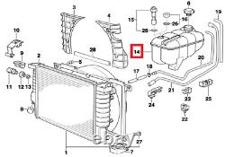 Bmw New Genuine 3 Z3 Series E30 E36 M3 Coolant Expansion Tank 1712641