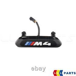 Bmw New Genuine 4 F82 F83 M4 Front Seat Illuminated Trim Badge Emblem 1 Pcs