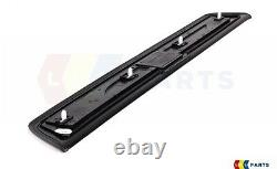 Bmw New Genuine 5 F10 F11 10-16 Door Entry Sill Strip Set Of Four Front+rear