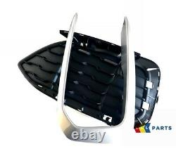 Bmw New Genuine F20 F21 LCI M140 M135 Front Bumper Grill With Trim Left N/s