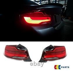 Bmw New Genuine F22 F23 F87 Retrofit Facelift LCI Led Tail Light Lamps Set Pair