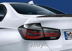 Brand New Genuine BMW F30 /F80 3 series M3 Tail Lights Black Line M Performance