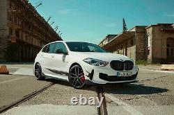 Brand New Genuine BMW F40 Diamond Pattern Shadowline Kidney Grilles 51135A39370