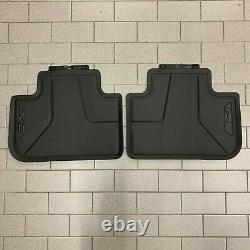 Brand New Genuine BMW RHD G01 X3 Front and Rear Rubber Floor Mats 51472450513