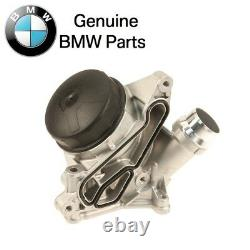 For BMW 1 2 3 Series Oil Filter Housing with Cover Cap Filter & Gaskets Genuine