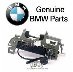 For BMW E36 Outside Door Handle Assembly with Key Front Driver Door Genuine New