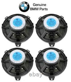 For BMW E46 325Ci Set of 4 Front & Rear 6.25 Speaker Bass Loudspeakers Genuine