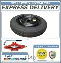 Genuine 18 Space Saver Spare Wheel And Tool Kit Fits Bmw X5 E70, F15 (2007-2017)