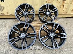 Genuine Aluwerks Gts Concave Vw T6 Sportline Alloy Wheels 19 Black Satin