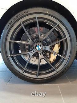 Genuine BMW F87 M2 19 Black 763M M Performance Wheel and Tyre Set 36115A23270