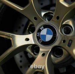 Genuine BMW F87 M2 763M M Performance Forged Gold Wheels with Tyres 36115A3DE48