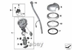 Genuine BMW Gas Petrol Tank Fuel Level Sensor Sender R 1200 GS 16147675547