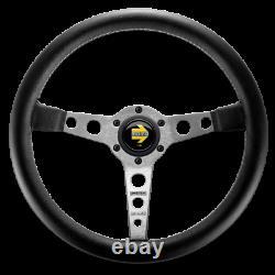 Genuine Momo Prototipo steering wheel with hub kit. For BMW 2002 1602 1802 1502