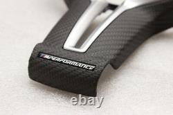 Genuine New BMW M Performance Steering Wheel Carbon Trim 2' F87 2' F87LCI