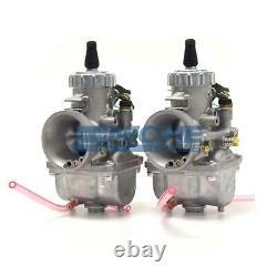Genuine Real Mikuni 34mm Round Slide Jetted BMW R100 Carburetor Carbs VM34-R100