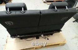 Genuine X5 Bmw F15 2013-2018 Rear Third Row Electric Folding Seats Leather Black