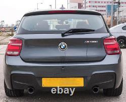 New Genuine BMW M135i Rear Bumper Diffuser Twin Exit Exhaust F20/21 51128051928