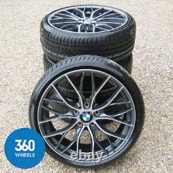 New Genuine Bmw 1 & 2 Series 19 405 M Sport Double Spoke Alloy Wheels Tyres F20